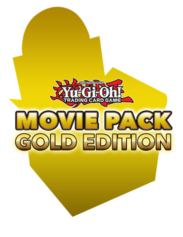 Yugioh The Dark Side Of Dimensions Movie Pack Gold Edition Display