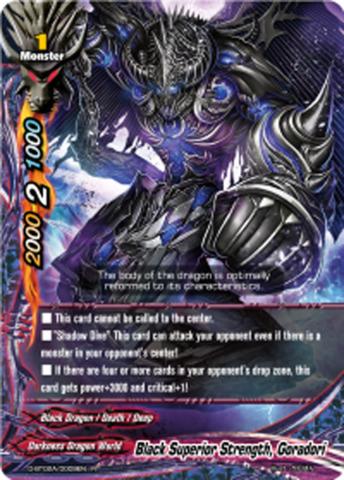 Black Superior Strength, Goradori [D-BT02A/0009EN R (FOIL)] English