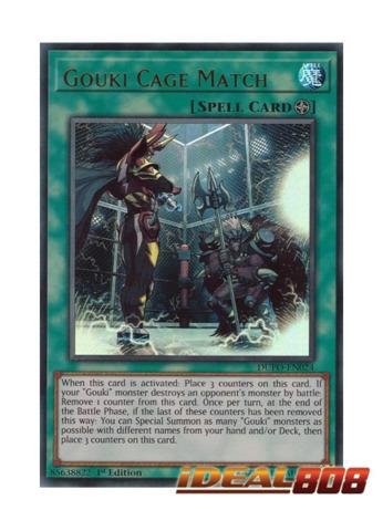 Gouki Cage Match - DUPO-EN024 - Ultra Rare - 1st Edition