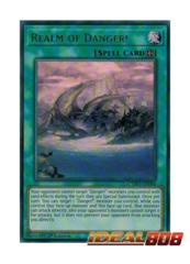 Realm of Danger! - CYHO-EN086 - Ultra Rare - 1st Edition