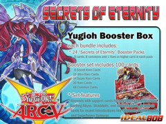 Yugioh Secrets of Eternity Booster Box (1st Edition)