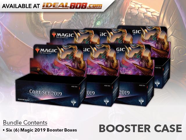 Core Set 2019 (M19) Booster  Case (6 boxes)