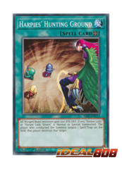 Harpies' Hunting Ground - SS02-ENC13 - Common - 1st Edition