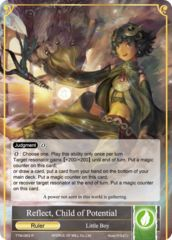 Reflect, Child of Potential // Refrain, Child of Convergence [TTW-063 R (Full Art Ruler)] English