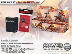 MTGRIX Bundle (A) Silver - Get x2 Rivals of Ixalan Booster Box + FREE Bonus Items