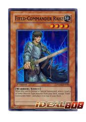 Field-Commander Rahz - PTDN-EN030 - Super Rare - Unlimited Edition