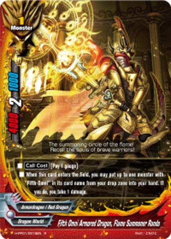 Fifth Omni Armored Dragon, Flame Summoner Rando [H-PP01/0019EN R] English