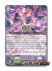 Psychic of Storm, Rigil - G-BT03/040EN - R