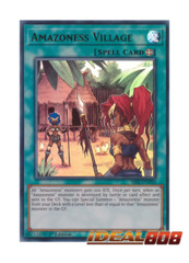 Amazoness Village - SS02-ENV03 - Ultra Rare - 1st Edition