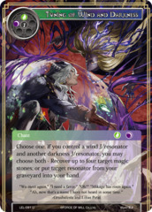 Tuning of Wind and Darkness [LEL-091 U (Foil)] English