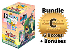 Weiss Schwarz Adventure Bundle (C) Gold - Get x6 Adventure Time Booster Boxes + FREE Bonus Items * COMING SOON