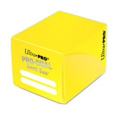 Ultra Pro Small Dual Deck Box - Yellow (#82986)