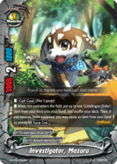 Investigator, Mazuru [S-BT02/0042EN U (FOIL)] English