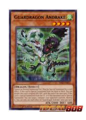 Guardragon Andrake - SAST-EN015 - Rare - 1st Edition