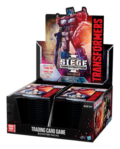 B03 War for Cybertron Siege I (English) Transformers TCG Booster Box [30 packs]