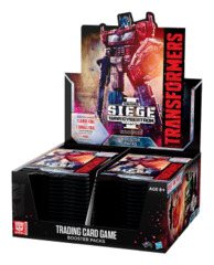 B03 War for Cybertron Siege I (English) Transformers TCG Booster Box [30 packs]