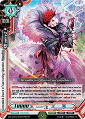 Concealed Sword of Scattering Splendor, Veronica - BT04/026EN - SP (SIGNED FOIL)