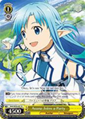 Asuna Joins a Party [SAO/SE26-E01 R (FOIL)] English
