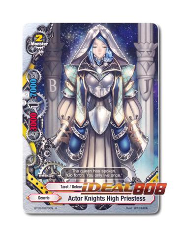 Actor Knights High Priestess - BT02/0070EN (U) Uncommon