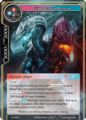 Twin-Headed Dragon [LEL-092 R (Textured Foil)] English