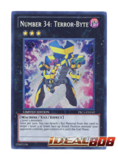 Number 34: Terror-Byte (Alt Art) - Secret - PRC1-ENV02 (Limited Edition)