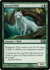 Sacred Wolf - Foil