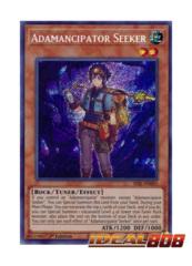 Adamancipator Seeker - SESL-EN001 - Secret Rare - 1st Edition