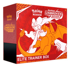 SM Sun & Moon - Unbroken Bonds (SM10) Pokemon Elite Trainer Box