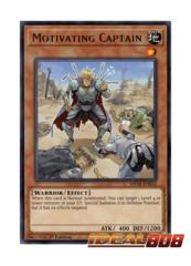 Motivating Captain - MP18-EN055 - Rare - 1st Edition