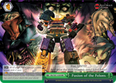Fusion of the Felons [BNJ/SX01-033R RRR (TEXTURED FOIL)] English