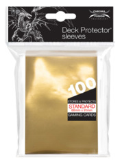 Ultra Pro Standard Sleeves 100ct - Vintage Gold [#85987] <Deck Protector>