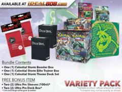 Pokemon SM07 Variety Pack - Get x1 Celestial Storm Booster Box; x1 Theme Deck Set; x1 Elite Trainer Box + Bonus *Ships Jul.30
