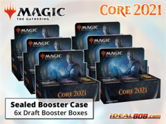 Core Set 2021 Draft Booster  Case [6 Boxes]