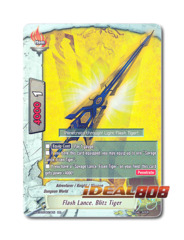 Flash Lance, Blitz Tiger [H-BT03/0019EN RR] English Foil
