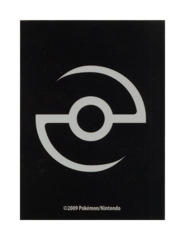 Pokemon Professor Cup 60ct. Sleeves - Pokeball Black
