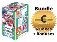 Weiss Schwarz Fujimi Bundle (C) Gold - Get x6 Fujimi Fantasia Bunko Booster Boxes + FREE Bonus Items * PRE-ORDER Ships Apr.17