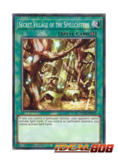 Secret Village of the Spellcasters - SDCH-EN022 - Common - 1st Edition