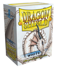 Dragon Shield Standard-size (100ct) Sleeves - White
