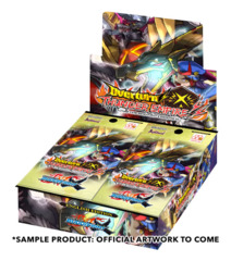 BFE-X-BT03 Overturn! Thunder Empire! (English) Future Card Buddyfight X Booster Box