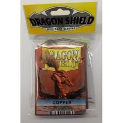 Dragon Shield Small Copper