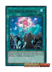 Spellbook of Knowledge - MP18-EN076 - Ultra Rare - 1st Edition