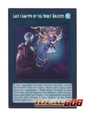 Last Chapter of the Noble Knights - NKRT-EN017 - Platinum Rare - Limited Edition