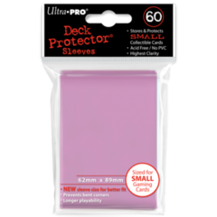Ultra Pro Small Sleeves 60ct. - Pink