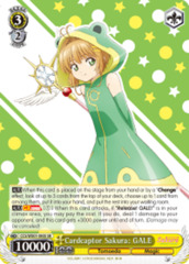 Cardcaptor Sakura: GALE  [CCS/WX01-003S SR (FOIL)] English