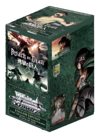 Attack on Titan Vol.2 (English) Weiss Schwarz Booster Box