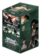 Attack on Titan Vol.2 (English) Weiss Schwarz Booster Box