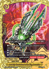 Autodeity Heroic Sword of the King, Laevateinn [S-BT02A-SP/0039EN Secret (FOIL)] English