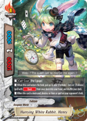 Hurrying White Rabbit, Henry [S-BT02A-UB04/0022EN R (FOIL)] English