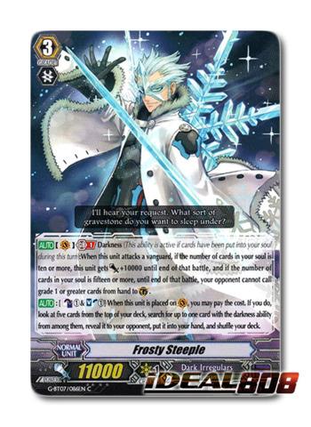 CARDFIGHT VANGUARD CARD G-BT07//086EN C FROSTY STEEPLE