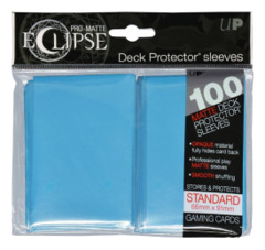 Ultra Pro Matte Eclipse Large Sleeves 100ct - Light Blue (#85603)